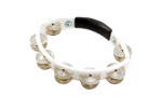 LP Cyclops® Jingle Tambourine, Steel Jingles, White, Hand Held image